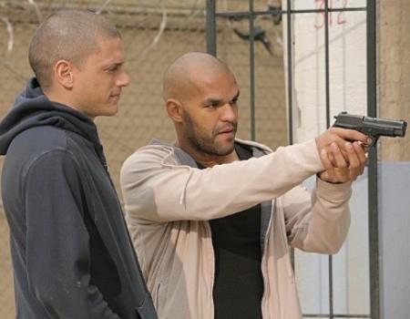 """Wentworth Miller and Amaury Nolasco in """"Prison Break."""""""