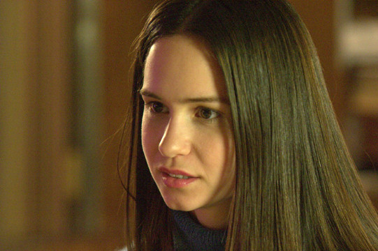 "Katherine Waterston in ""The Babysitters."""