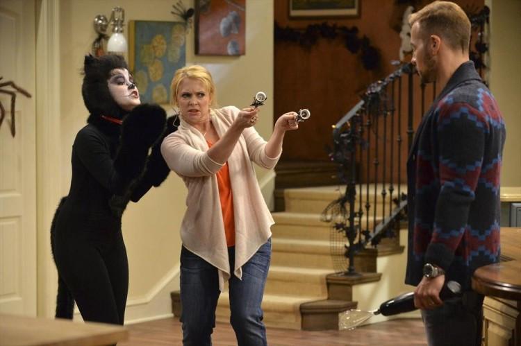 "Melissa Joan Hart and Joseph Lawrence star in ""Melissa & Joey"""