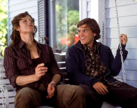 "Sigourney Weaver and Emile Hirsch in ""Imaginary Heroes."""