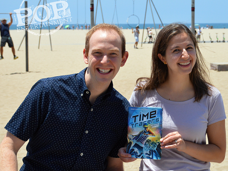 Connor White and Annabeth Bondor-Stone – Stealing Some Time with the YA Authors