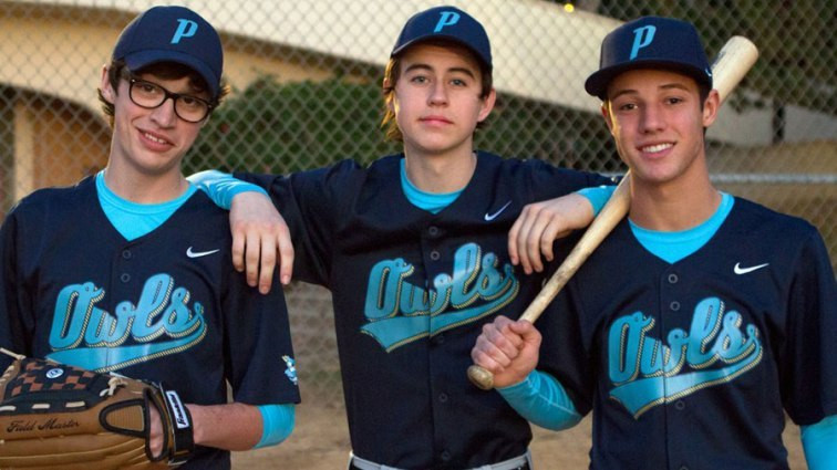 "Cameron Dallas, Joey Bragg and Nash Grier in ""The Outfield."""