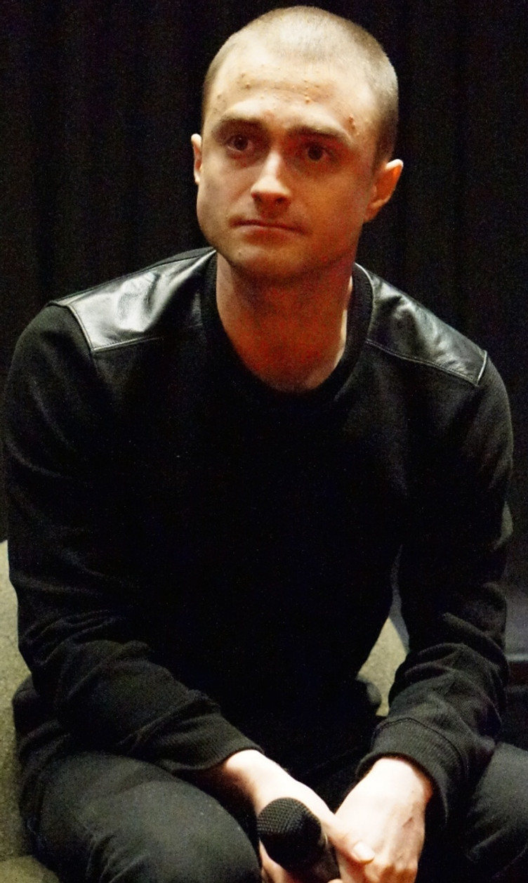 Daniel Radcliffe at the NY press day for VICTOR FRANKENSTEIN. Photo copyright 2015 Brad Balfour.