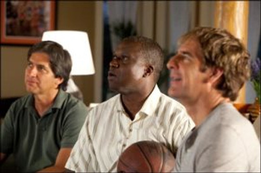 """Ray Romano, Andre Braugher and Scott Bakula in """"Men of a Certain Age."""""""