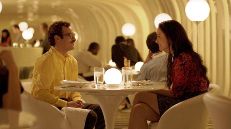 Joaquin Phoenix and Olivia Wilde star in 'Her.'