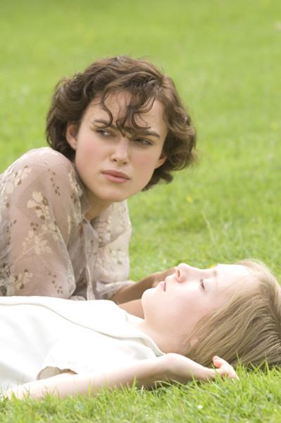 Keira Knightley and Saiorse  Ronan star in ATONEMENT.