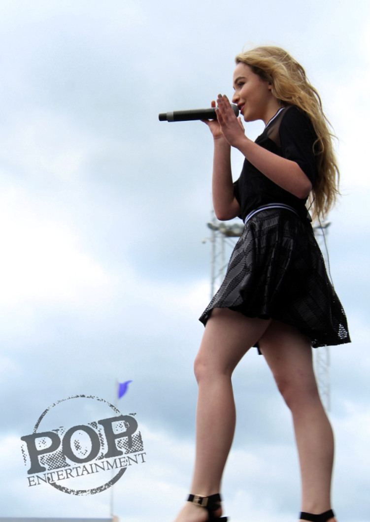 Sabrina Carpenter at the Show of the Summer in Hershey, PA.