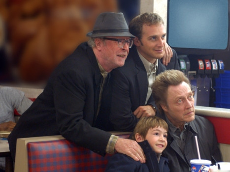 "Michael Caine, Josh Lucas, Christopher Walken and Jonah Bobo star in ""Around the Bend."""