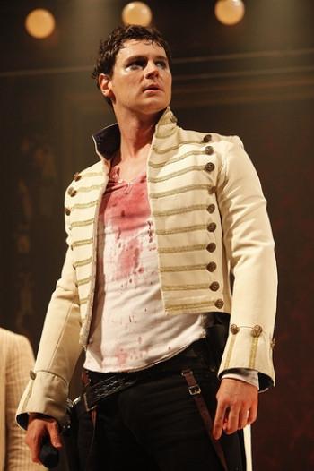 "Benjamin Walker in ""Bloody Bloody Andrew Jackson."""