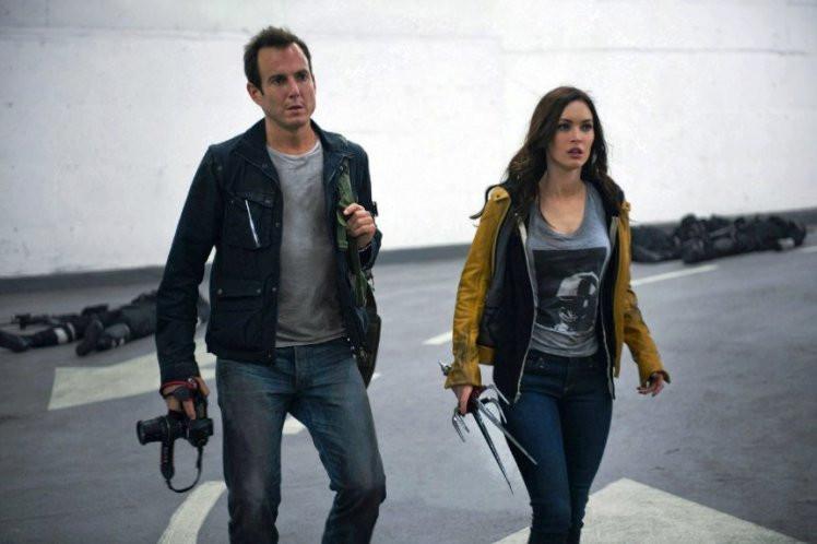 "Will Arnett and Megan Fox star in ""Teenage Mutant Ninja Turtles."""