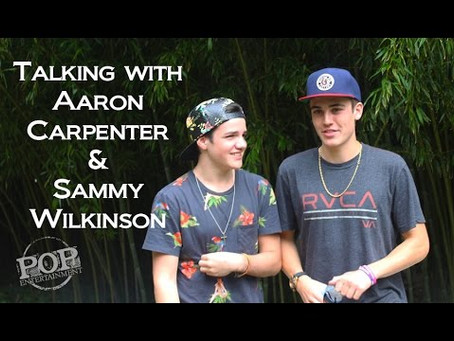 Aaron Carpenter and Sammy Wilk Reflect on Life Online