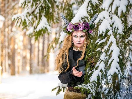 Зимнее волшебство в Чарамоне