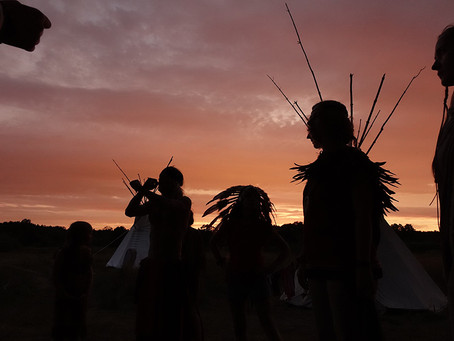 Ковбои в гостях у индейцев
