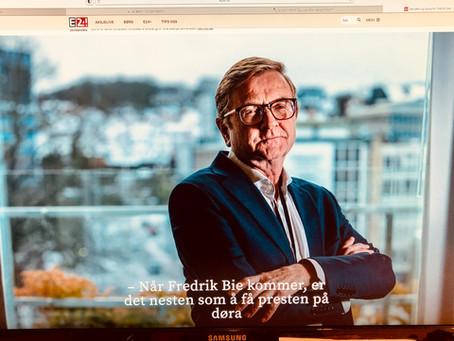 He's no butterfly, but stings like a Bie!  -Bostyrer Fredrik Bie innrømmer feil konkurs!