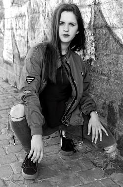 Amélie Saffer Agnece Aurélie Poelvoorde par Yves Stassin