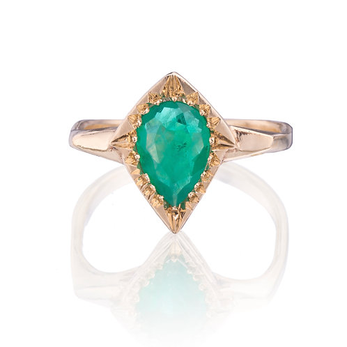 Emerald Queen Gold Ring