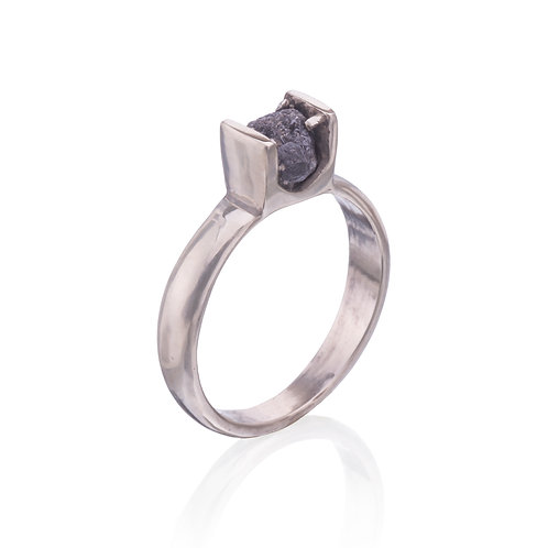Raw Diamond Engagement Ring #2