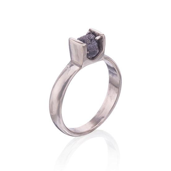 Raw Diamond Ring #2