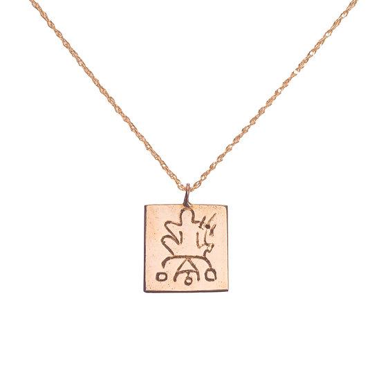 Birth Hieroglyph Necklace