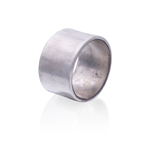 Silver Thick Highlight Ring
