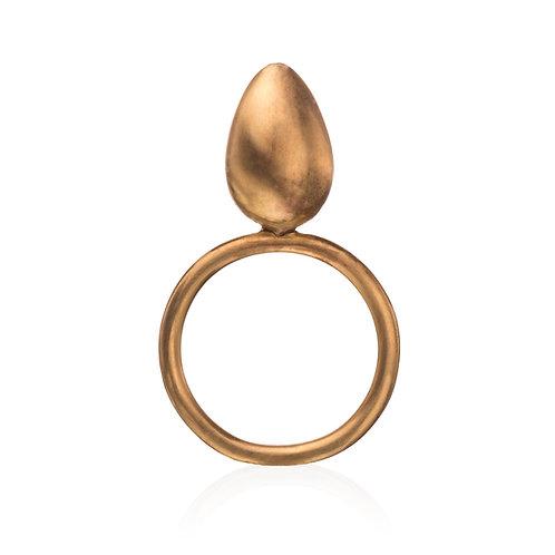 Gold Egg Ring