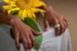 Gold Sunflower Ring | Maya Sebbah | Jewelry Artis