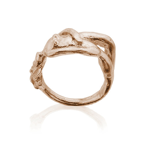 Gold Woman Ring