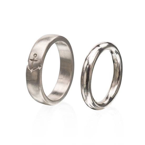 Captain's Love Rings