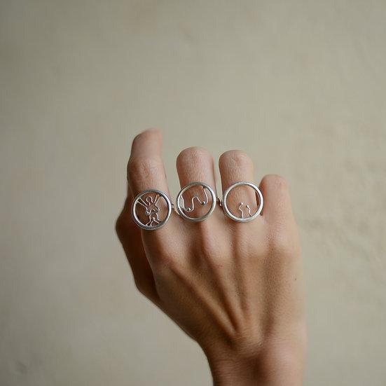 Semper Femina #1 Ring