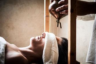 Shirodhara - Third Eye Ayurvedic treatment | VEDA | Ayurveda Israel | Roee Raifeld