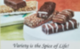 Variety of Flavorful Protein Bars