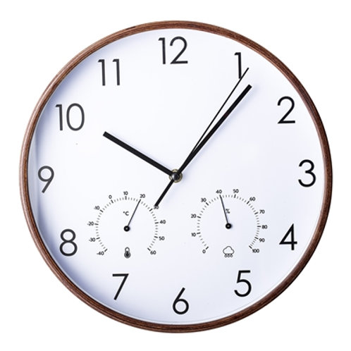 Wall Clock Brown Bloomingville
