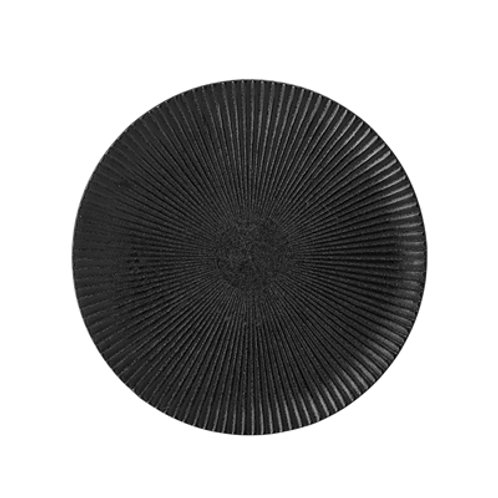 Plate Black Bloomingville Studio Nordic Interior Design Sitges Barcelona