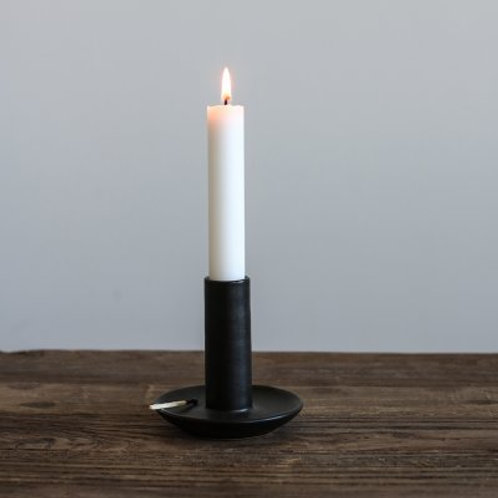Candle Holder Black Tell Me More Studio Nordic Barcelona Interior Design