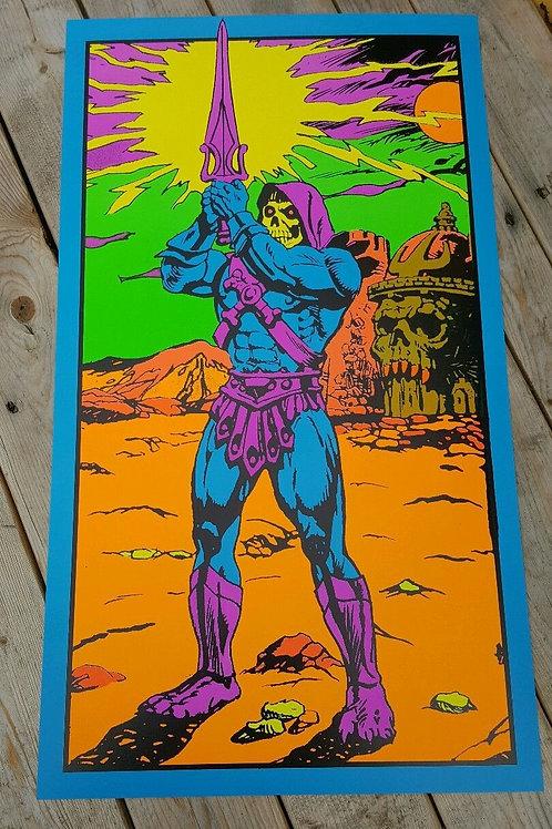 Skeletor Third Eye Poster