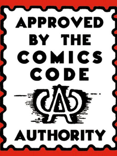 Comics Code Poster