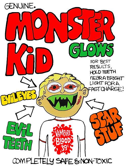 Monster Kid Enamel Pin