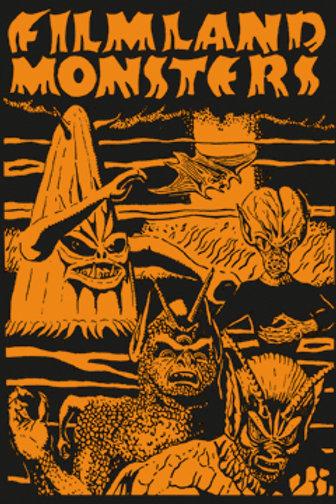 Filmland Monsters Poster (Paul Blaisdell Tribute)