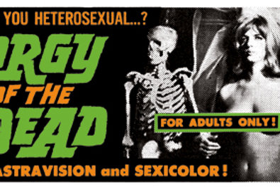 Orgy of The Dead Poster