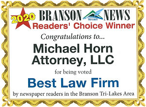 2020 Best Law Firm Award Readers Choice.