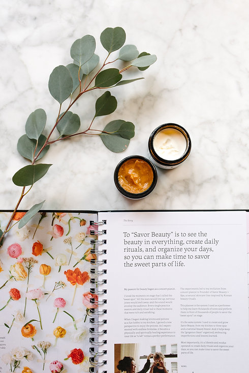Eucalyptus + Planner +Pumpkin Peel + Tru