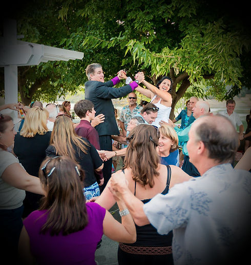 Wedding Snake Dance @ Lake Sonoma (Sonoma County)