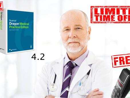 Dragon Medical 4.2 released in Australia.