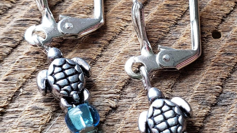Sea Tutle Earrings (Pair 2)