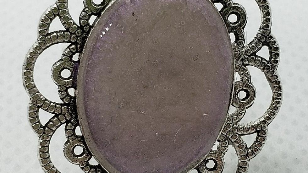 Antique Pink Adjustable Ring