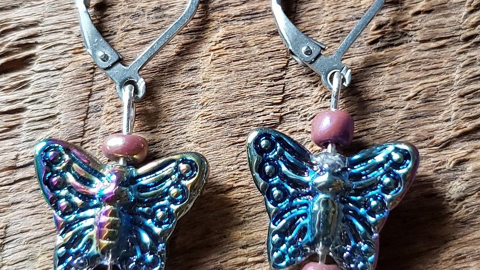 Butterfly Earrings Version 2