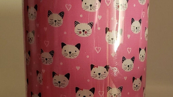 Pink Cat Cup (My Practice Cup)