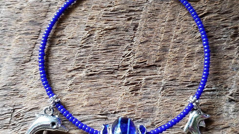 Dolphin Memory Wire Bracelet