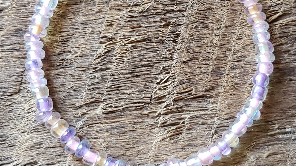 Pastel Horse Memory Wire Bracelet