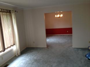 Home Remodel Progress by Asheville Interior Designer Charlton Bradsher
